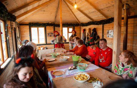 Зимний праздник под Одессой
