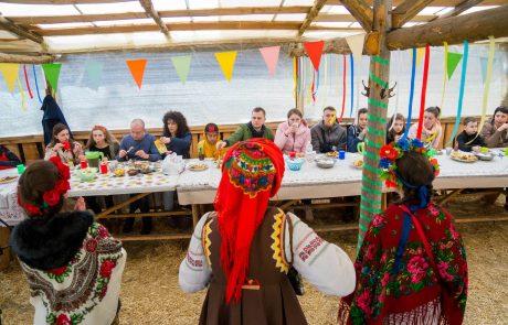 Масленица в Одессе на базе Акуна Матата